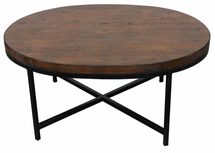 Excellent Brand New Oval Wood Coffee Tables Regarding Coffee Table Metal And Wood Coffee Table Diy Overstock Joss And (Image 12 of 50)