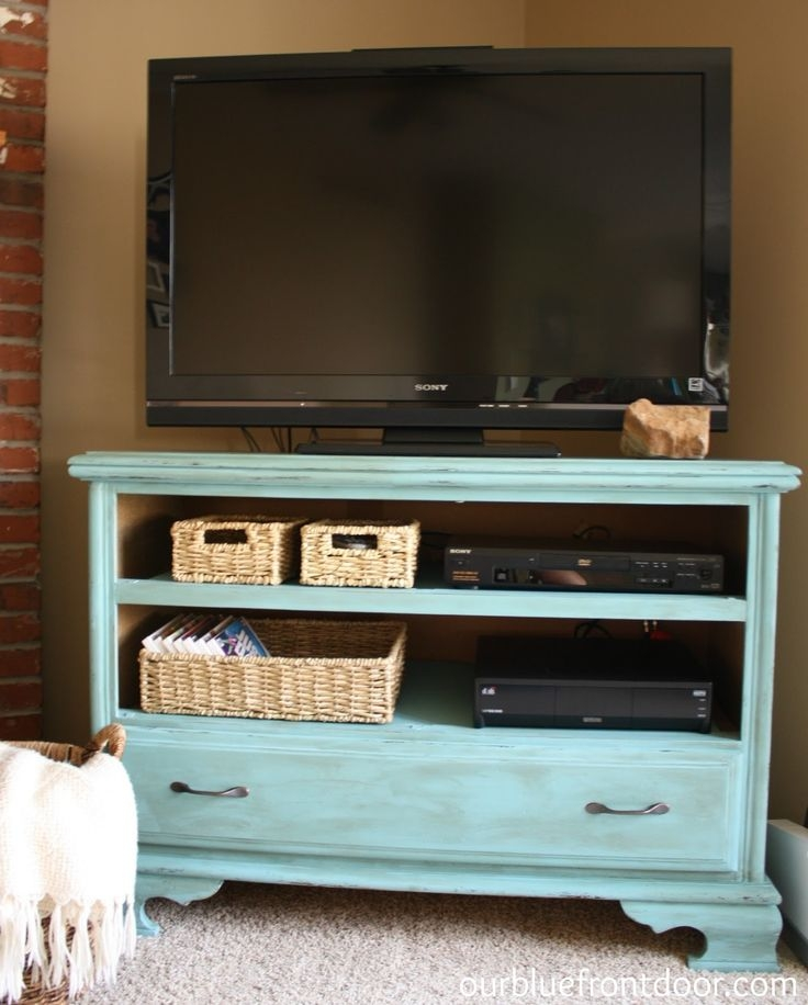 Excellent Brand New Painted TV Stands Pertaining To 58 Best Furniture Painted Tv Stands And Media Cabinets Images On (Image 16 of 50)