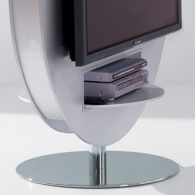 Excellent Brand New Round TV Stands With Regard To Most Stylish Tv Stand Ever Craziest Gadgets (Image 15 of 50)
