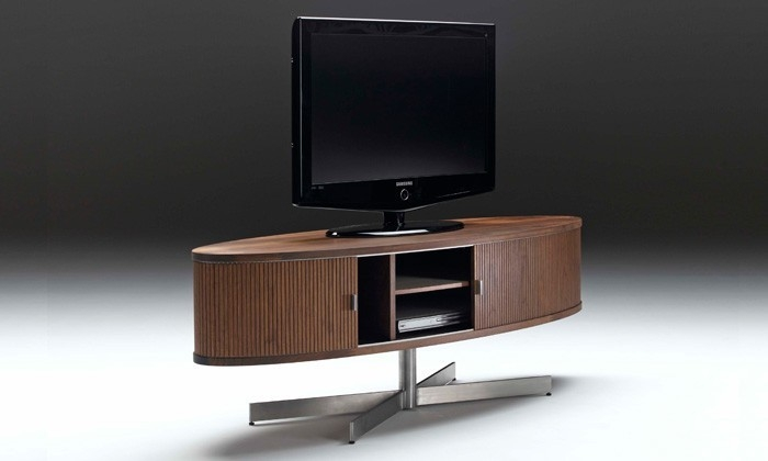 Excellent Brand New Scandinavian TV Stands Within Aero Scandinavian Tv Unit Oval Tv Stand Scandinavian Design (Image 11 of 50)