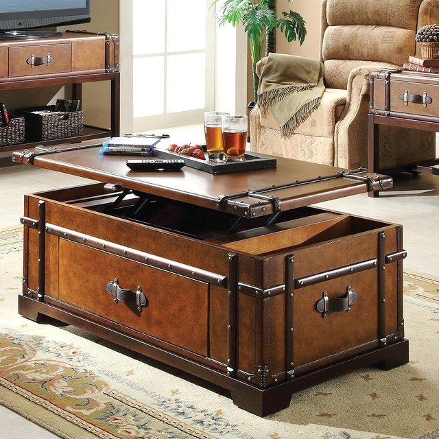 Excellent Brand New Stainless Steel Trunk Coffee Tables Pertaining To Trunks As Coffee Tables Blackbeardesignco (View 14 of 50)