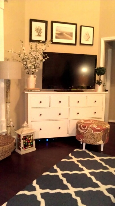 Excellent Common Dresser And TV Stands Combination Intended For Tv Stands 2017 Top Antique Dresser Tv Stand Ideas Collection (View 19 of 50)