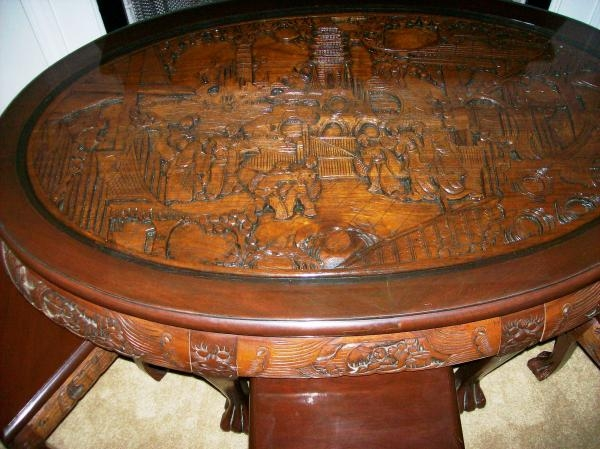 Excellent Common Elephant Glass Top Coffee Tables With Regard To Living Room The Most Solid Wood Hand Carved Elephant Scene Coffee (Image 11 of 50)
