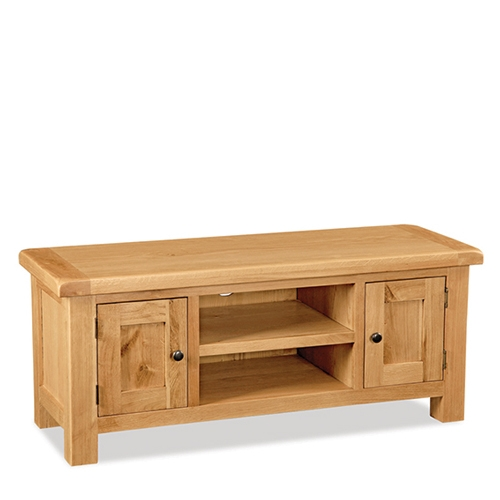 Excellent Common Oak TV Stands Pertaining To Salisbury Oak Large Tv Stand Up To  (Image 14 of 50)