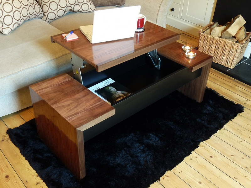 Excellent Common Raise Up Coffee Tables Within Coffee Table Captivating Coffee Table That Lifts Up White Lift (View 5 of 40)