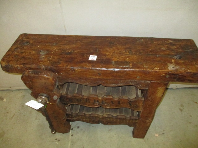 Excellent Common Round Oak Coffee Tables In Antique Trestle And Pedistal Tables For Sale Oak Wood (Image 13 of 40)
