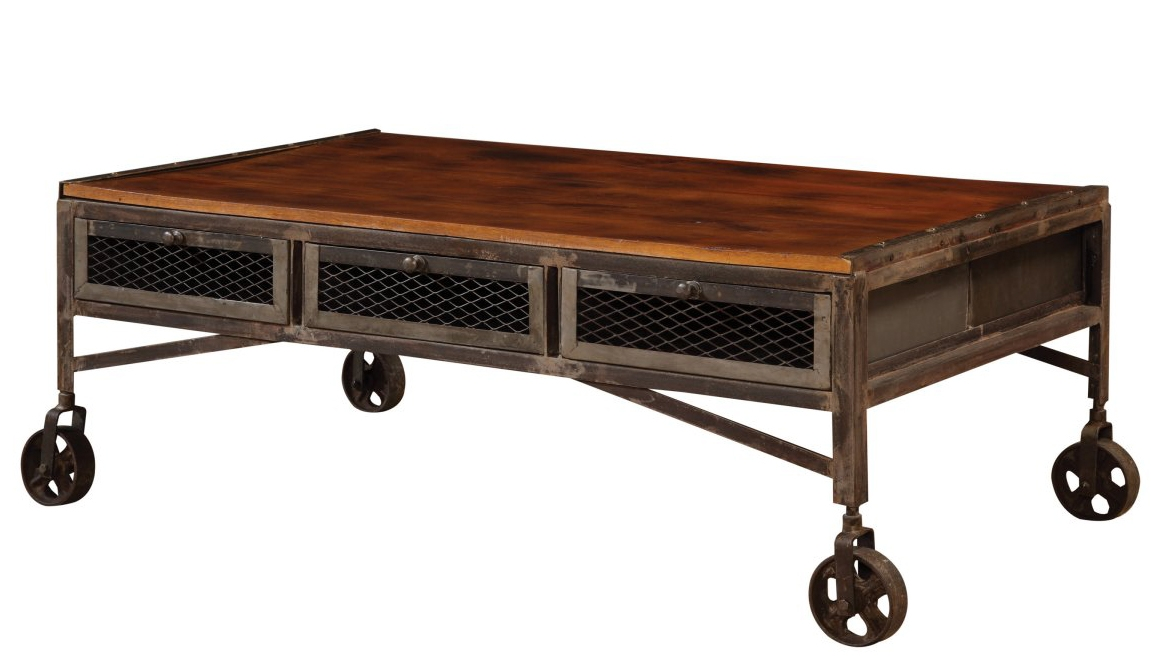Excellent Common Rustic Coffee Table Drawers Intended For Coffee Table Breathtaking Coffee Table Wheels For Inspiring Your (View 50 of 50)