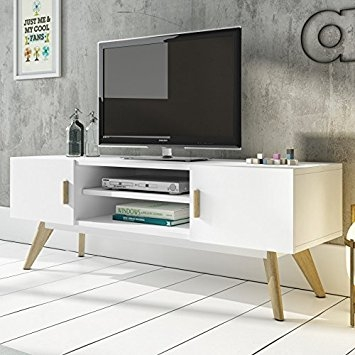 Excellent Common Scandinavian TV Stands With Regard To Mmilo Scandinavian Retro Meet Tv Table Bench Tv Stand Side Table (Image 12 of 50)