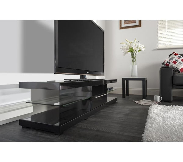 Excellent Common Techlink TV Stands Sale Regarding Buy Techlink Echo Xl Ec150b Tv Stand Free Delivery Currys (Image 11 of 50)