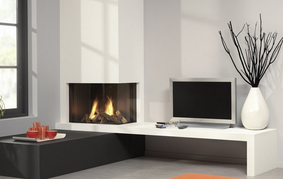Excellent Common Unique Corner TV Stands With Regard To Tv Stands 2017 Corner Fireplace Tv Stands Univesal Design Ideas (Image 9 of 50)