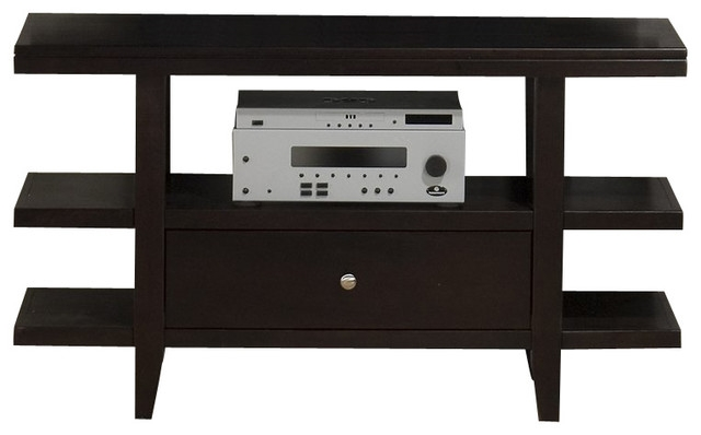 Excellent Common Wenge TV Cabinets Within Jofran Marlon Rectangle Sofa Table Tv Stand With Wood Top In Wenge (Image 11 of 50)
