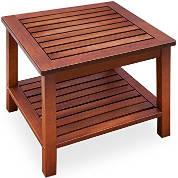 Excellent Common Wooden Garden Coffee Tables With Side Table Pre Oiled Acacia Wood Coffee Table Garden Table Wood (Image 11 of 50)