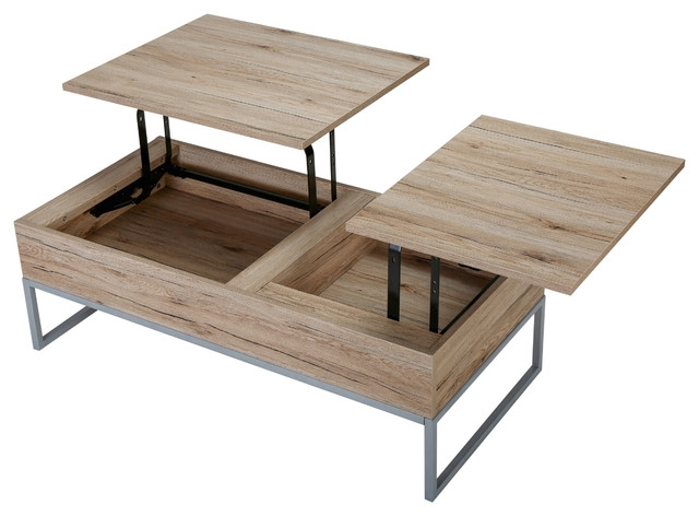 Excellent Common Wooden Storage Coffee Tables Intended For Cerise Lift Top Storage Coffee Table Midcentury Coffee And (View 7 of 50)