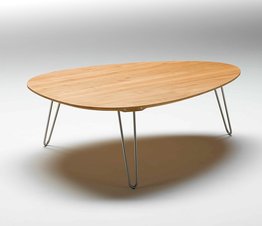 Excellent Deluxe Coffee Tables With Oval Shape For Contemporary Coffee Tables Video And Photos Madlonsbigbear (Image 7 of 50)