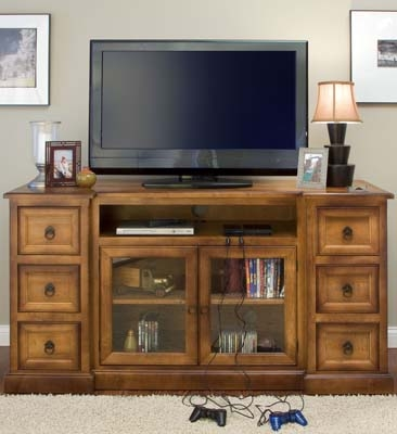 Excellent Deluxe Enclosed TV Cabinets For Flat Screens With Doors With Regard To Wood Tv Cabinets For Flat Screens Roselawnlutheran (Image 14 of 50)