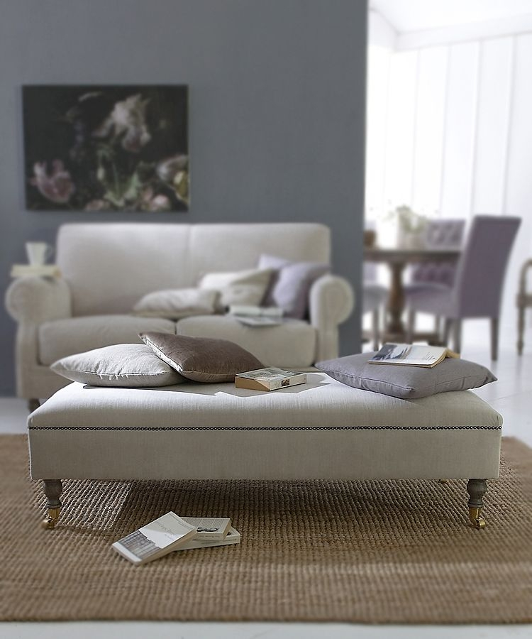 Excellent Deluxe Footstool Coffee Tables Throughout Extra Large Footstool Coffee Table (Image 11 of 40)