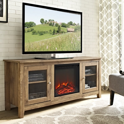 Excellent Deluxe Freestanding TV Stands Intended For Electric Fireplaces Fireplaces The Home Depot (View 19 of 50)