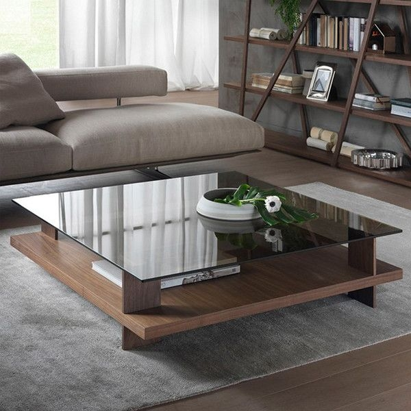 Excellent Deluxe Glass Square Coffee Tables Pertaining To Best 25 Glass Top Coffee Table Ideas On Pinterest Glass Coffee (View 34 of 50)