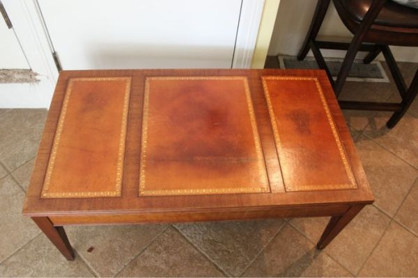 Excellent Deluxe Heritage Coffee Tables Pertaining To Henredon Coffee Table (Image 15 of 50)
