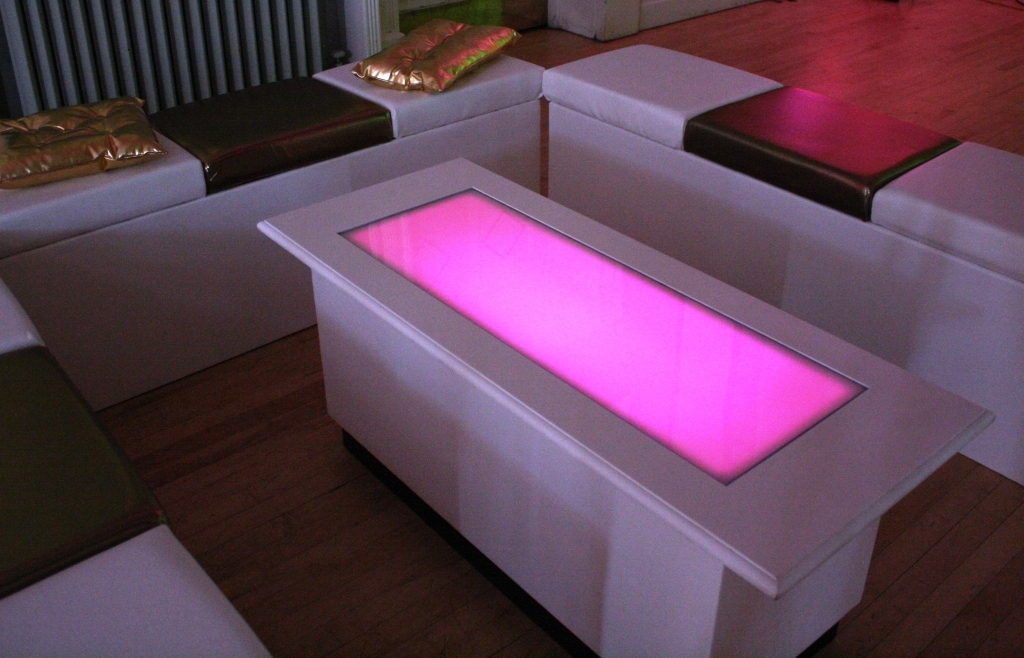Excellent Deluxe Led Coffee Tables Intended For Led Coffee Table Design Images Photos Pictures (Image 13 of 50)