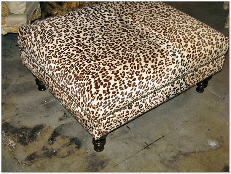 Excellent Deluxe Leopard Ottoman Coffee Tables Within Leopard Ottoman Coffee Table Download Page Best Sofas And Chairs (View 30 of 40)