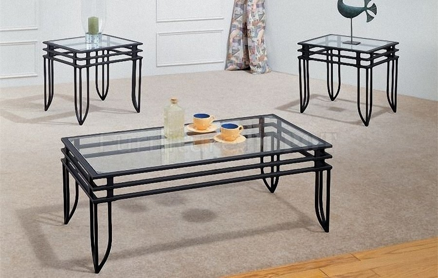 Excellent Deluxe Metal And Glass Coffee Tables Pertaining To Glass Top Coffee Table With Shiny Metal Circle Legs Jericho (Image 11 of 50)