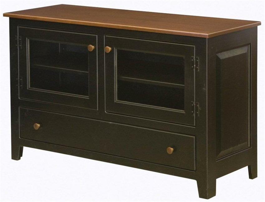 Excellent Deluxe Plasma TV Stands Within Amish Pine Wood Plasma Tv Stand (Image 15 of 50)