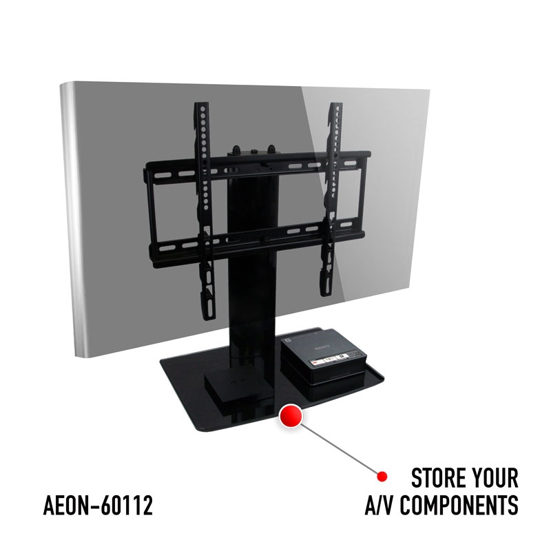 Excellent Deluxe Swivel TV Stands With Mount With Universal I Tabletop Tv Stand Swivel I Height Adjustment (Image 21 of 50)