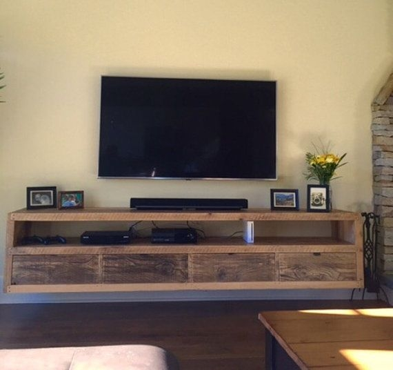 Excellent Deluxe TV Stands With Drawers And Shelves Inside Best 25 Floating Tv Stand Ideas On Pinterest Tv Wall Shelves (Image 14 of 50)