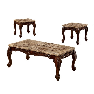 Excellent Deluxe Wayfair Coffee Table Sets With Living Room The Monarch Specialties Inc 3 Piece Coffee Table Set (Image 13 of 50)
