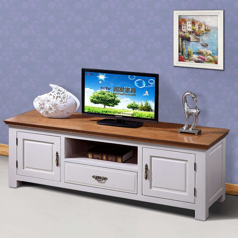Excellent Deluxe White Wood TV Cabinets Within M Moritake Furniture Cabinet Tv Cabinet Idyllic 100 Pure White Oak (Image 17 of 50)