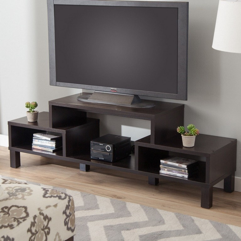 Excellent Deluxe Wooden TV Stands For Flat Screens Pertaining To Ikea Solid Wood Tv Stand (Image 15 of 50)