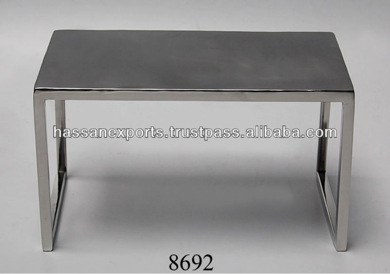Excellent Elite Aluminium Coffee Tables Inside Decorative Small Aluminium Coffee Table Buy Aluminum Table (Image 15 of 50)
