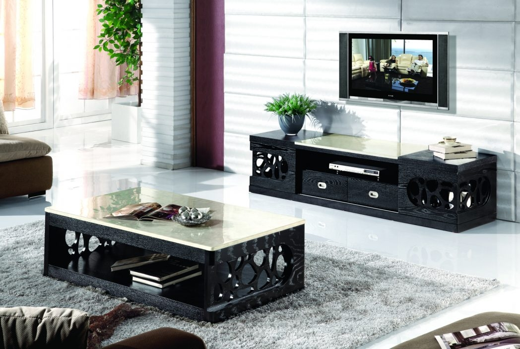 Excellent Elite Coffee Table And Tv Unit Sets In Coffee Table Tv Stand Set Coffee Tables Thippo (Image 11 of 50)