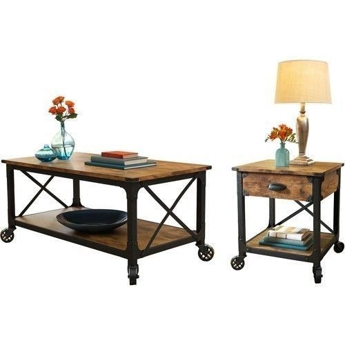 Excellent Elite Coffee Tables And Side Table Sets Regarding Top 25 Best Rustic Coffee Table Sets Ideas On Pinterest (Image 16 of 50)
