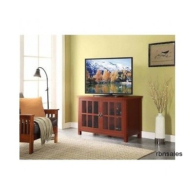 Excellent Elite Glass Front TV Stands With Entertainment Center Tv Stand Console Tvs Up To 55 Glass Front (Image 15 of 50)