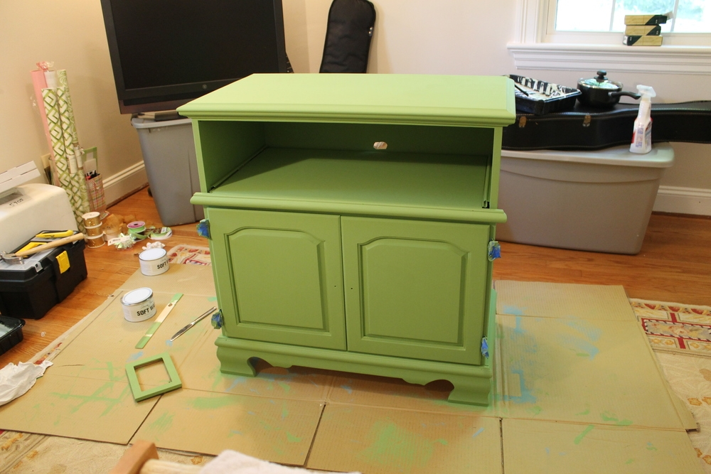 Excellent Elite Green TV Stands In Green Tv Stand Alyson Johnson Creative (Image 12 of 50)