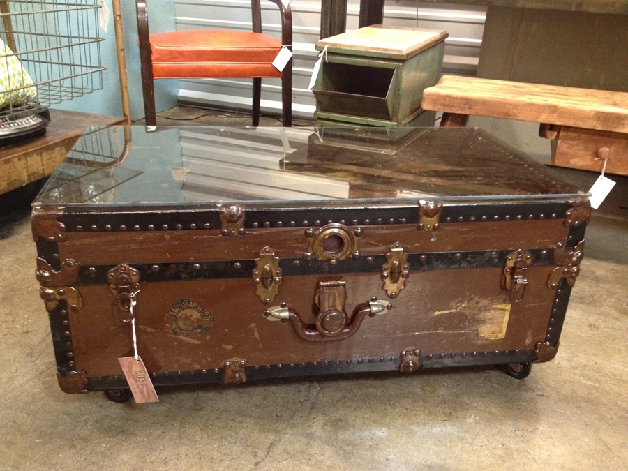Excellent Elite Old Trunks As Coffee Tables With Remarkable Old Trunk Coffee Table Ideas (Image 12 of 50)