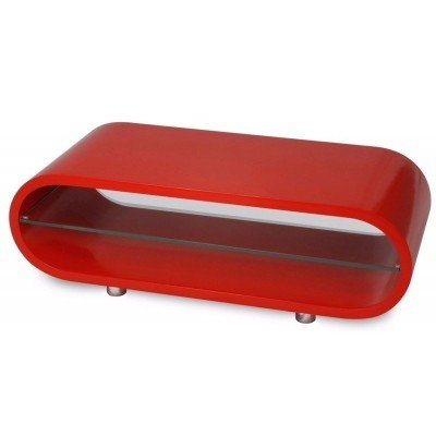 Excellent Elite Red Gloss TV Stands Intended For Techlink Ovid Ov95r Gloss Red Tv Stand (View 23 of 50)