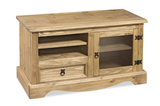 Excellent Elite Solid Pine TV Cabinets With Regard To Corona Tv Stand Living Room Furniture Solid Wood Mexican Pine (Image 13 of 50)