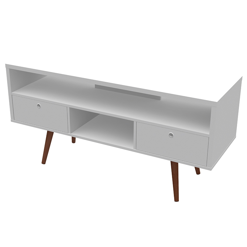 Excellent Elite TV Stands White Intended For Jessie Modern Tv Stand White (View 31 of 50)