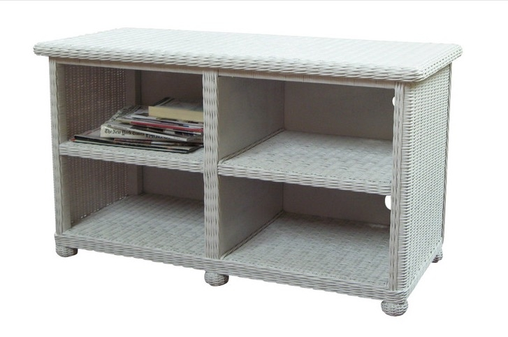 Excellent Elite Widescreen TV Stands Pertaining To Wicker Widescreen Tv Stand Wicker Paradise (Image 12 of 50)