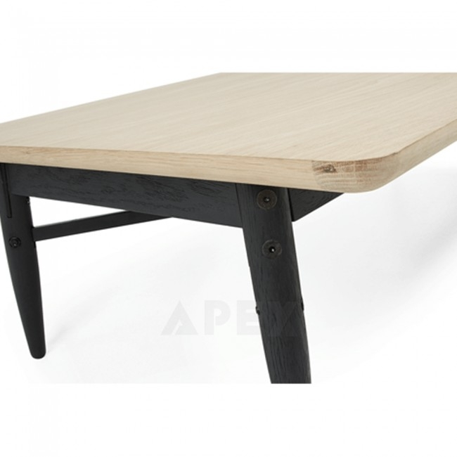Excellent Famous Ava Coffee Tables With Ava Coffee Table Top In White American Oak And Metal Barons (Image 13 of 50)