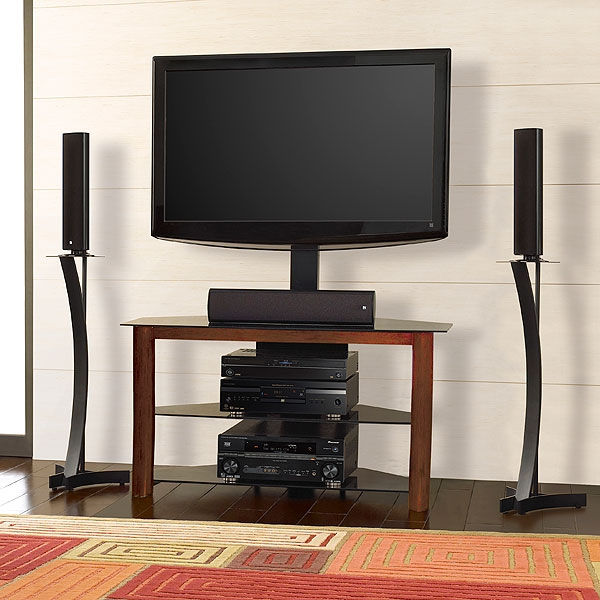 Excellent Famous Bell'O Triple Play TV Stands Inside Amazon Bello Tp4501 Av System Holds Up To 55 Inch Or 125lbs (View 18 of 50)