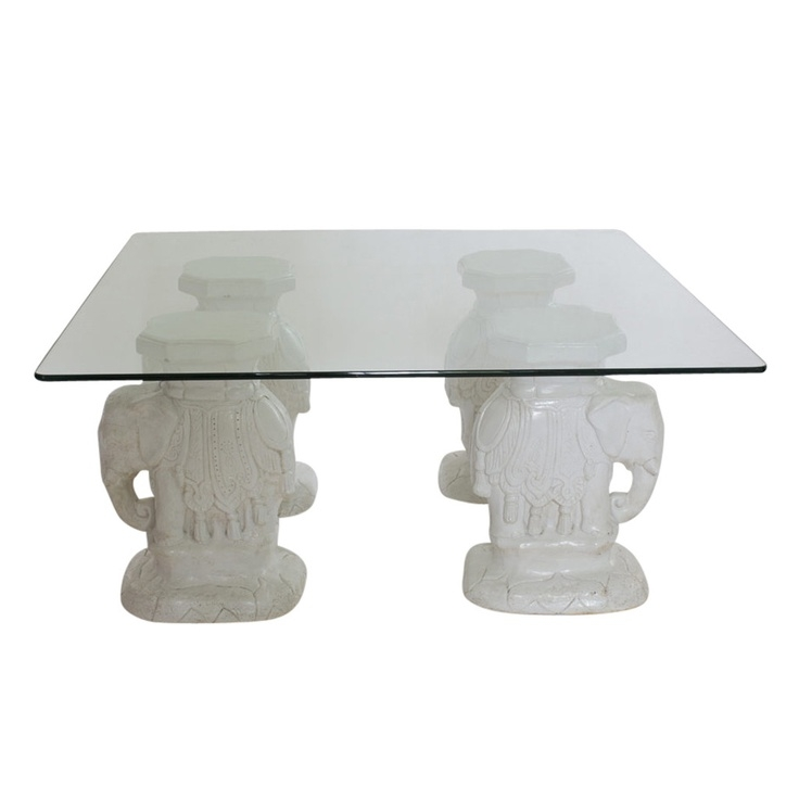 Excellent Famous Elephant Glass Top Coffee Tables In 98 Best Elephants Furniture Images On Pinterest Elephant Stuff (Image 12 of 50)
