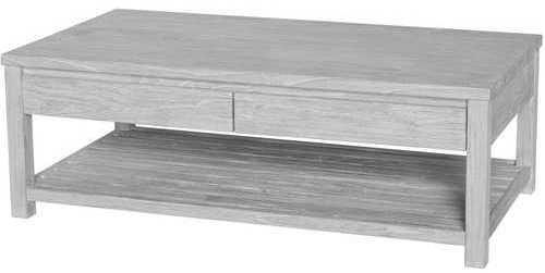 Excellent Famous Grey Wash Coffee Tables With Regard To White Washed Wood Coffee Table (Image 14 of 50)