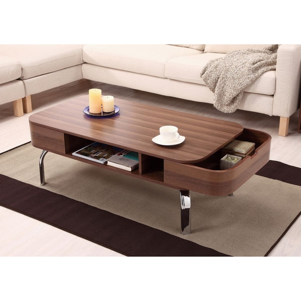 Excellent Famous High Quality Coffee Tables Inside Coffee Table Furniture Of America Berkley Modern Wood Coffee (View 4 of 50)