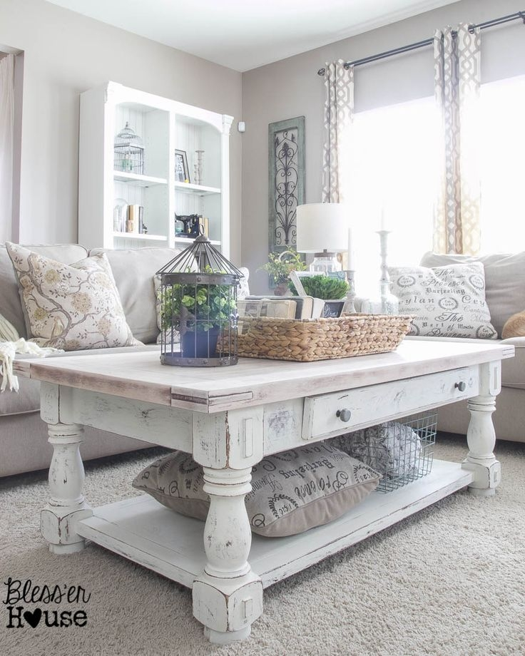 Excellent Famous Large Low White Coffee Tables Regarding Best 25 Refurbished Coffee Tables Ideas On Pinterest Refinished (Image 12 of 50)