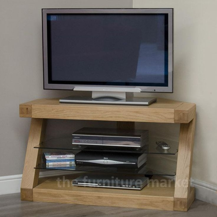 Excellent Famous Large Oak TV Stands Intended For 25 Best Oak Corner Tv Unit Ideas On Pinterest Oak Corner Tv (Image 14 of 50)