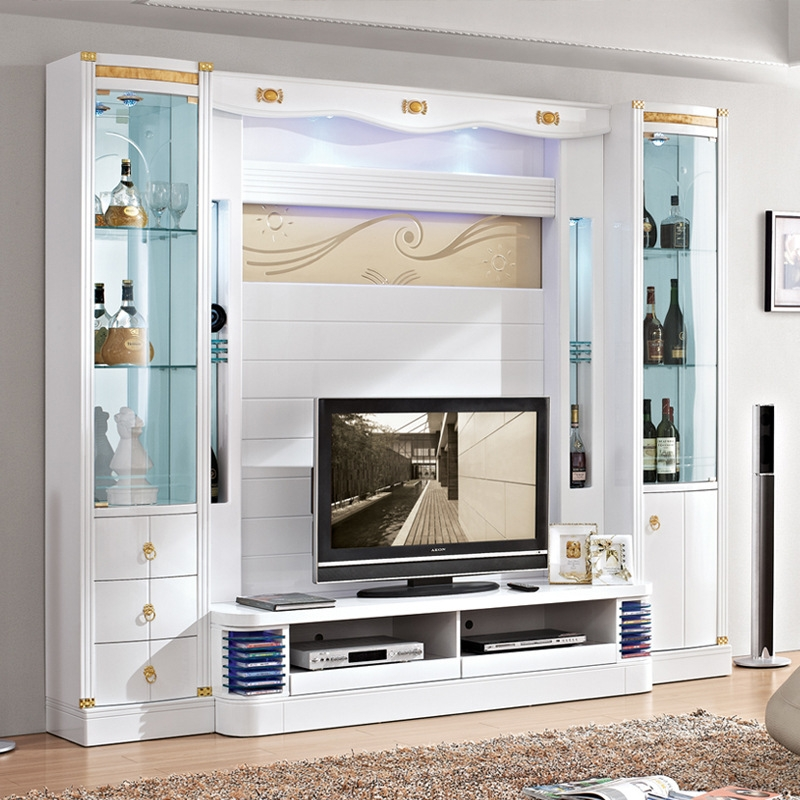 Excellent Famous Living Room TV Cabinets Pertaining To Popular Modern Wooden Tv Cabinets Buy Cheap Modern Wooden Tv (Image 12 of 50)